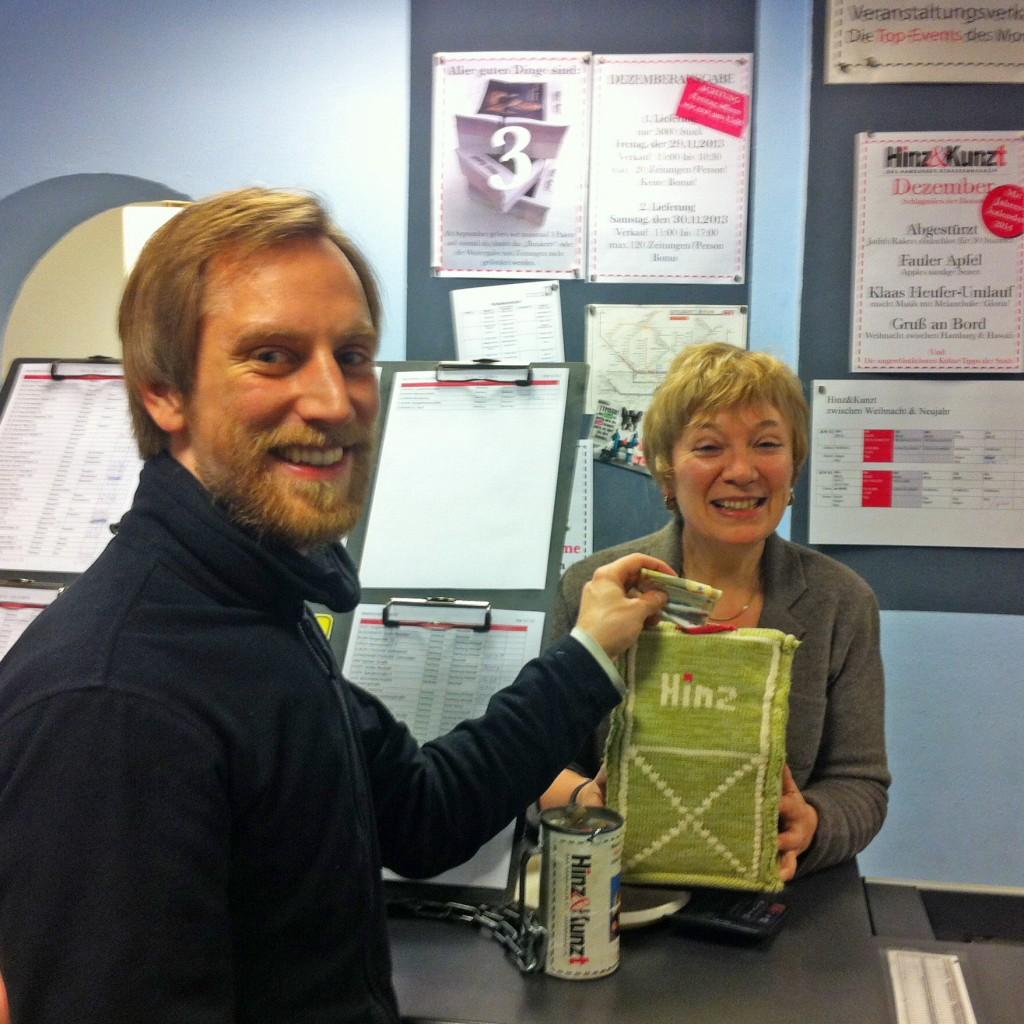 Einmannmusik Liedermacherlabor Spende Hinz & Kunzt